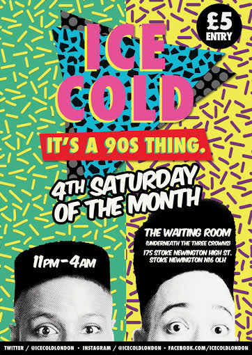 it's a 90s thing ice cold flier